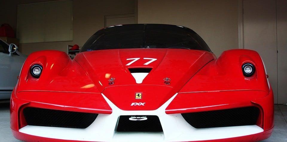 Ferrari FXX Evoluzione lands in Australia