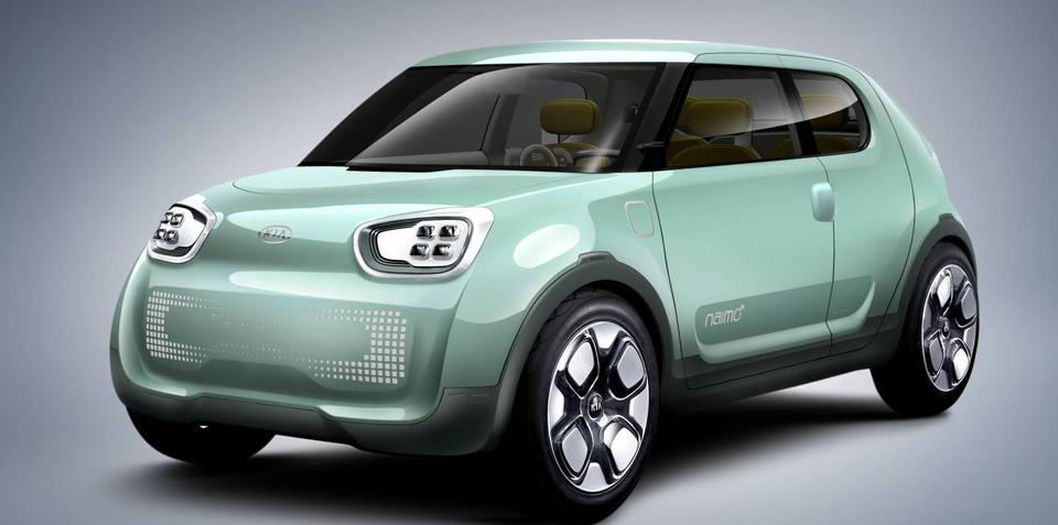 Kia Naimo Electric Concept unveiled at Seoul Motor Show