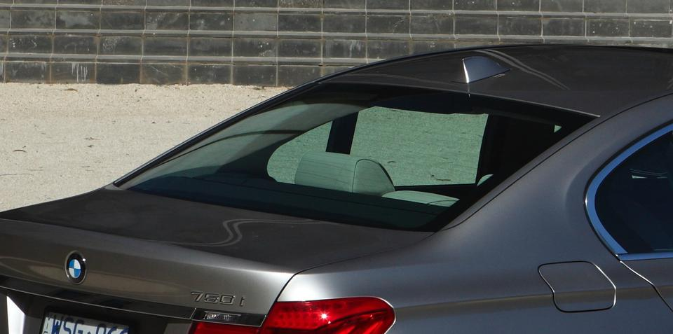 Acoustivision converts rear window into sub-woofer