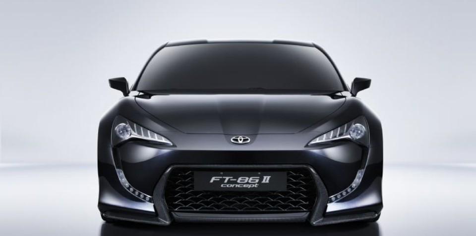 Toyota FT-86 II revealed at Geneva show