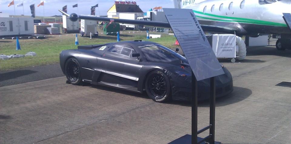 Joss JP1 Supercar prototype at Avalon Airshow