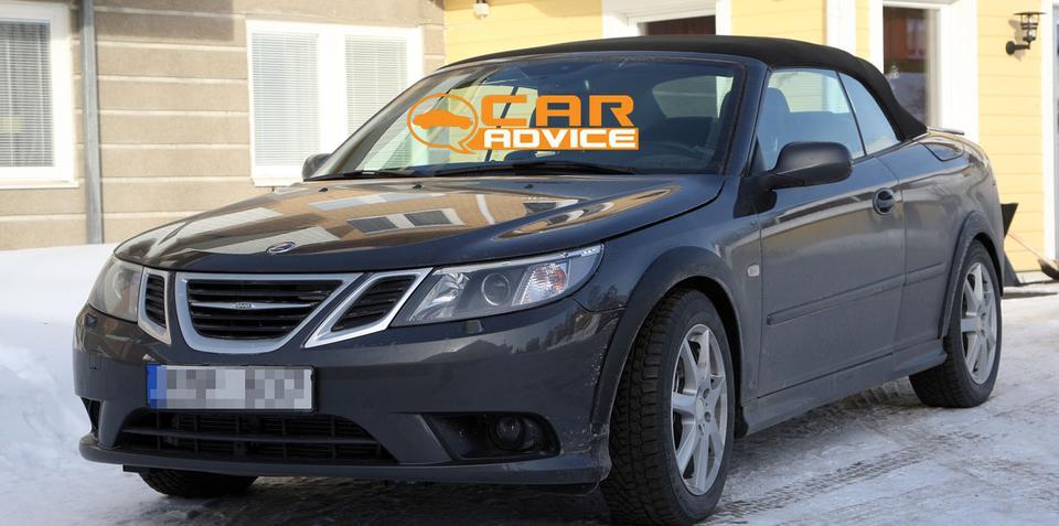 2012 Saab 9-3 mule spy photos