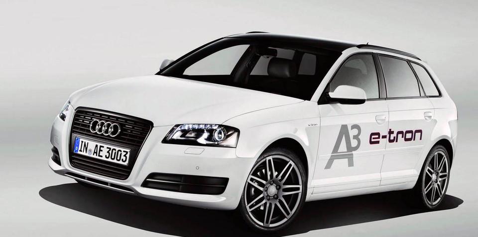 Audi A3 e-tron details announced