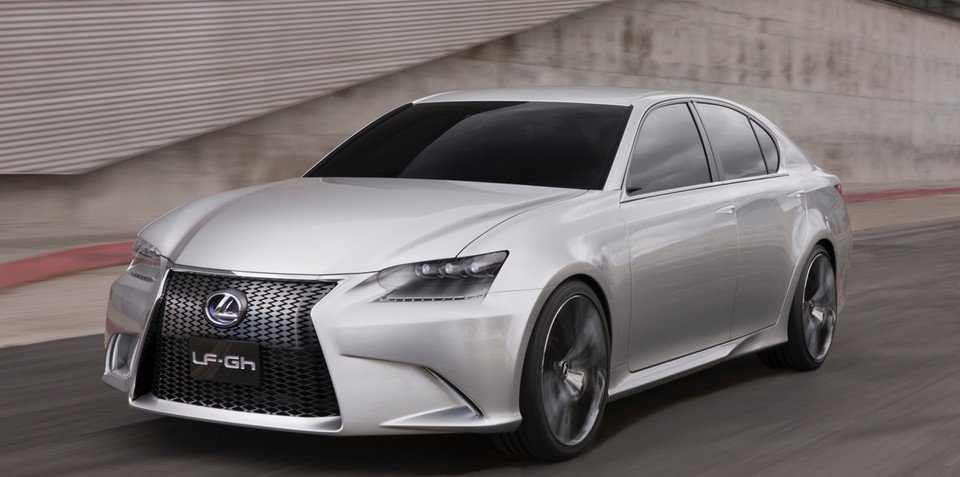 Lexus LF-Gh unveiled in New York