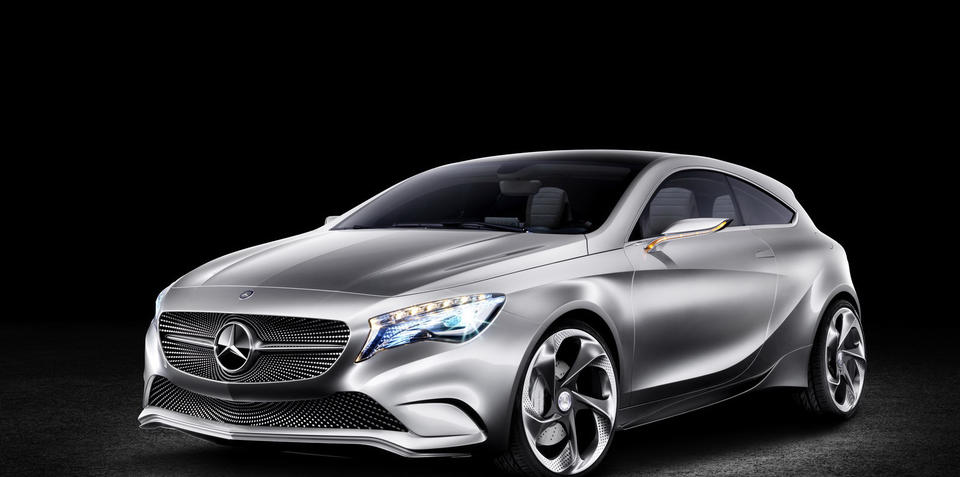 Mercedes-Benz A-Class Concept to debut at Shanghai