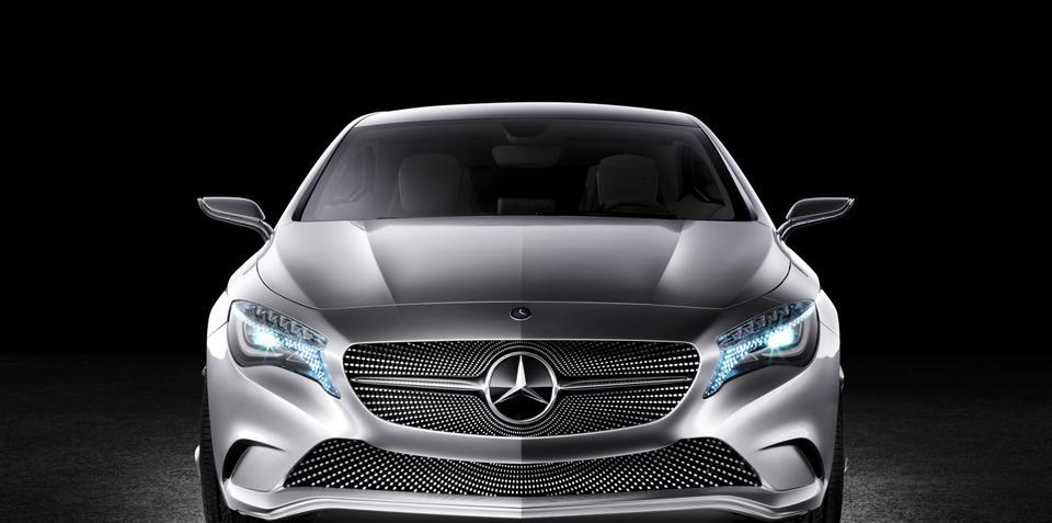 Mercedes Concept A-Class at New York Auto Show