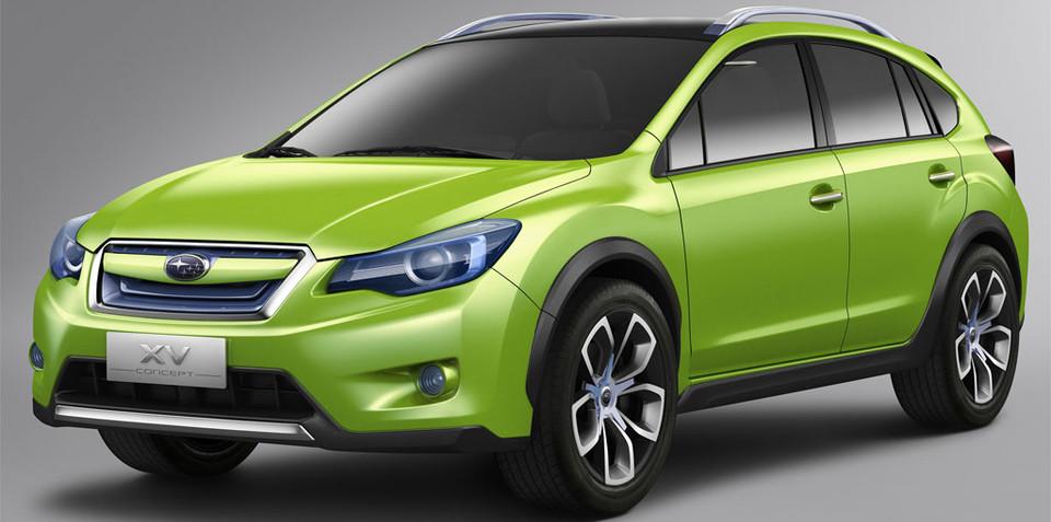 Subaru XV Concept unveiled at Auto Shanhgai 2011