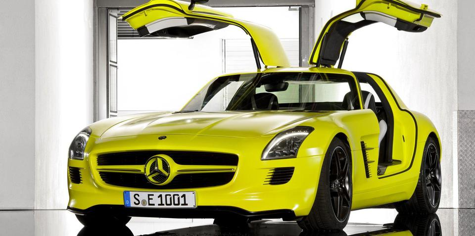 Mercedes-Benz to begin full-scale EV production in 2012