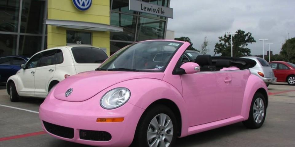 Volkswagen Beetle most popular vehicle for women: report