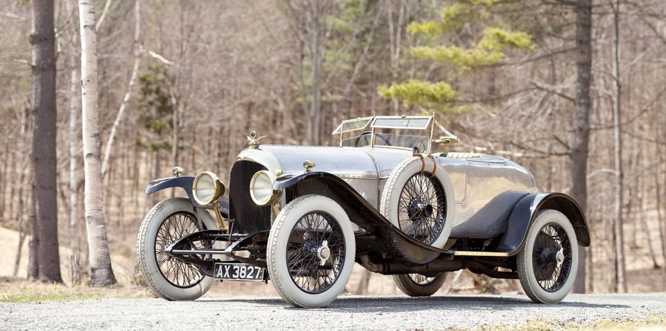 Oldest Bentley in the world to fetch $1M+ at auction