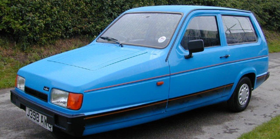 Reliant Robin the least-crashed vehicle in the UK