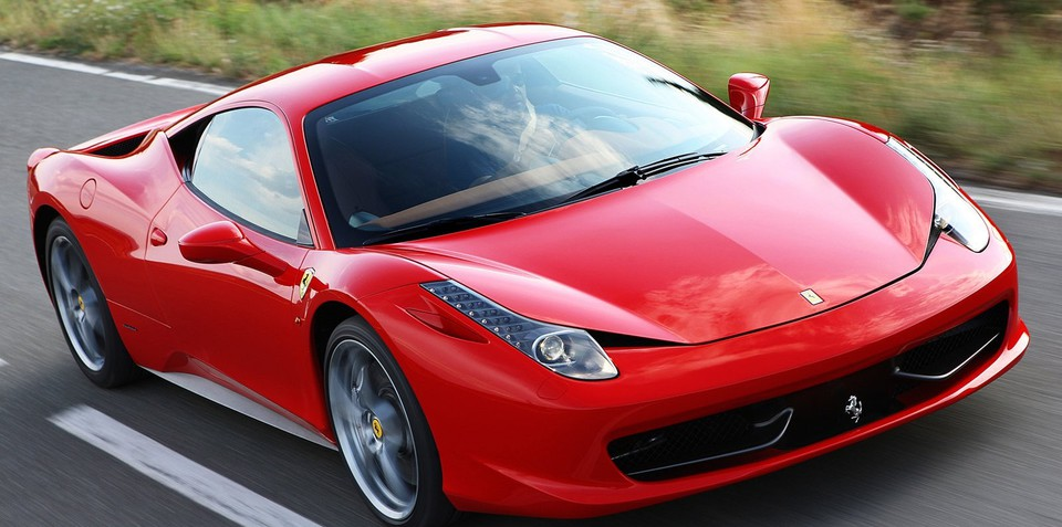 Ferrari buyers ditching red in favour of other colours