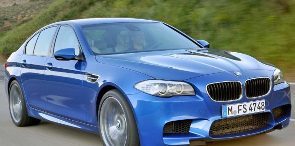 2012 BMW M5 images leaked: official