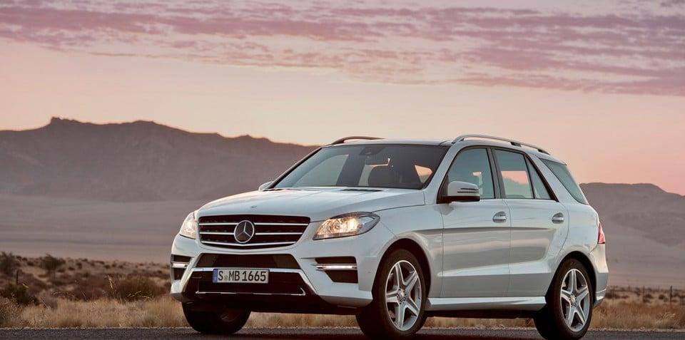 2012 Mercedes-Benz ML-Class on sale in Australia Q2 next year