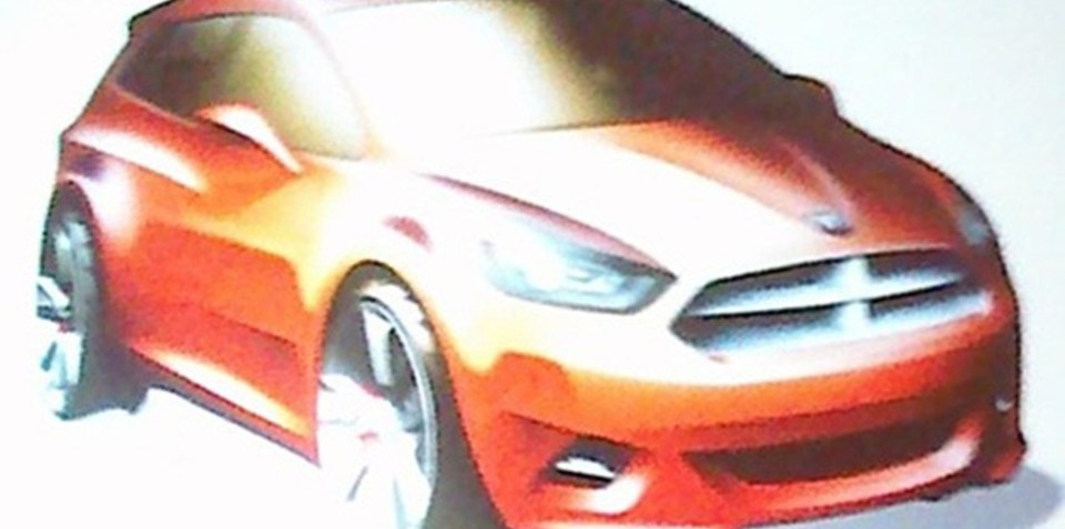2013 Dodge Caliber to debut at Detroit next year: report