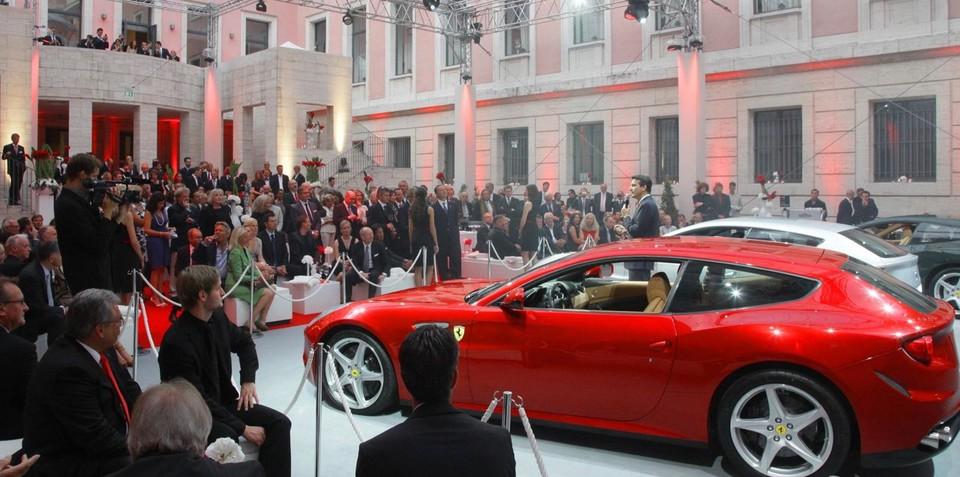 Ferrari FF launches in Germany