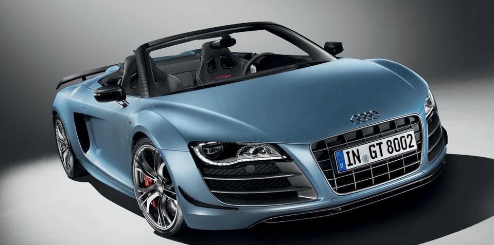Audi R8 GT Spyder coming to Australia
