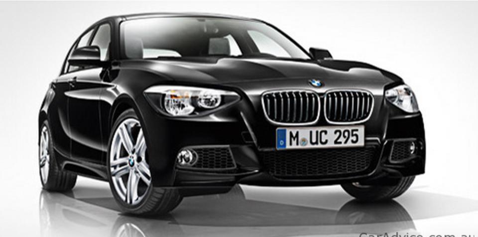 2012 BMW 1 Series M Sport pack revealed