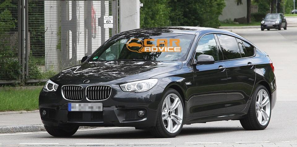 2012 BMW 5 Series GT M Sport spy shots