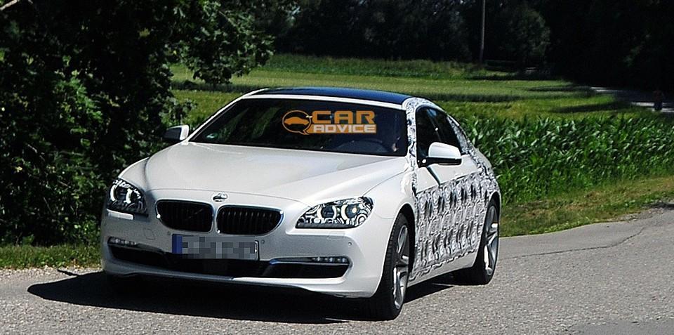 2013 BMW 6 Series Gran Coupe spy shots