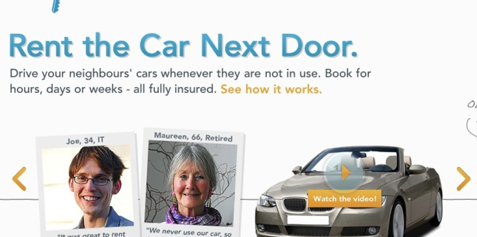 Whipcar in the UK rents out customers' cars