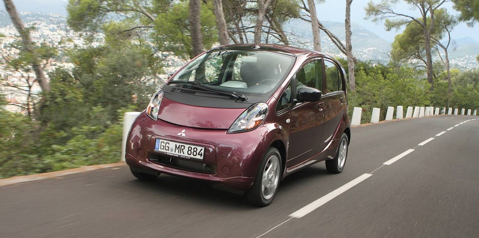 Mitsubishi i-MiEV M with 120km range not for Australia