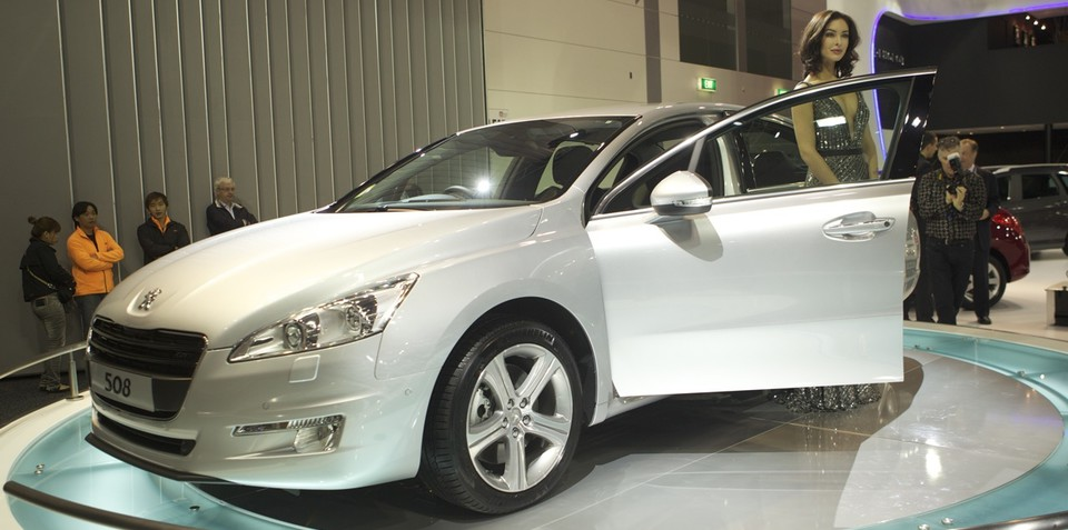 Peugeot 508 at Australian International Motor Show 2011