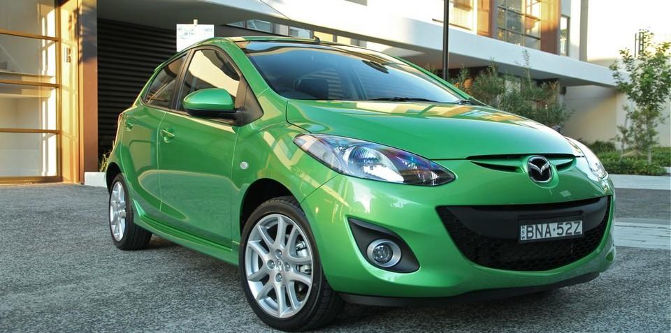 2012 Mazda2 improves safety