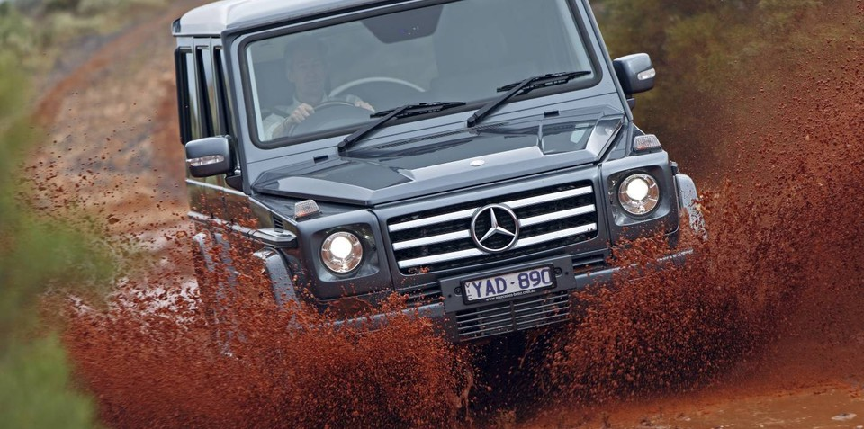 Mercedes-Benz G-Class to take on Canning Stock Route off-road track