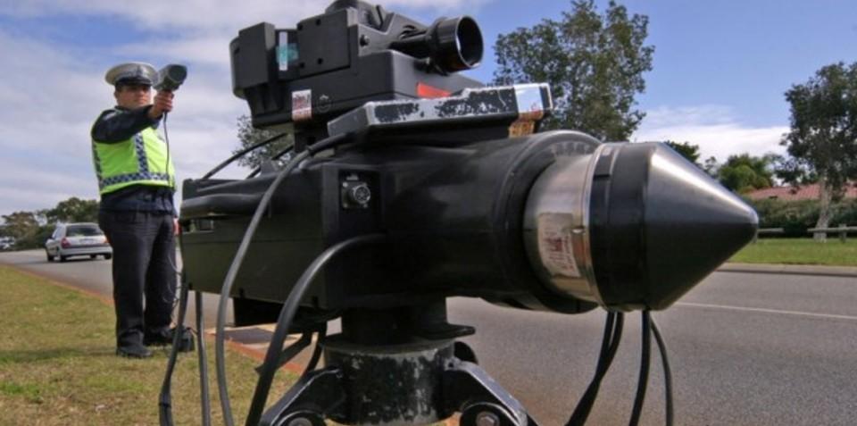 Senior police officer caught speeding twice by same camera