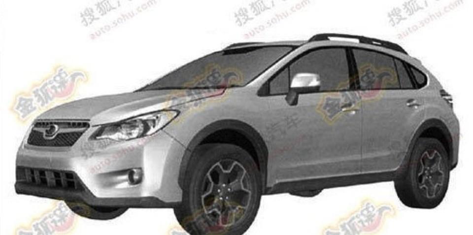 Subaru XV Impreza-based Outback patent images revealed