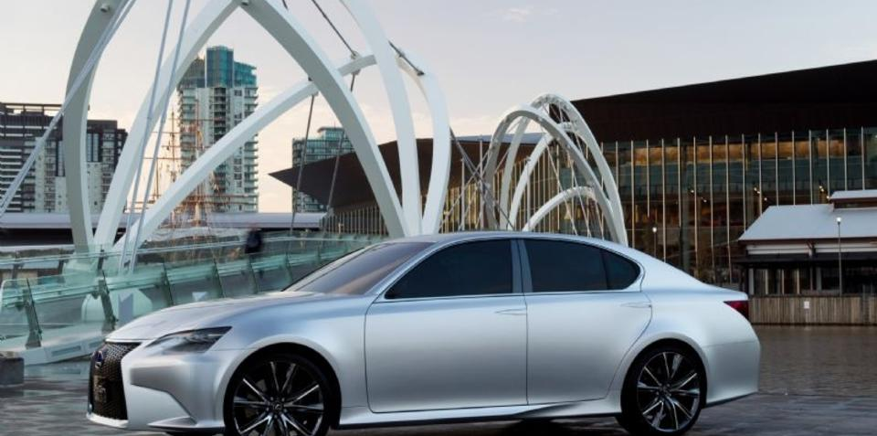 2012 Lexus GS to be unveiled at Pebble Beach Concours d'Elegance