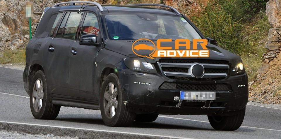 Mercedes-Benz GL-Class Spy Photos