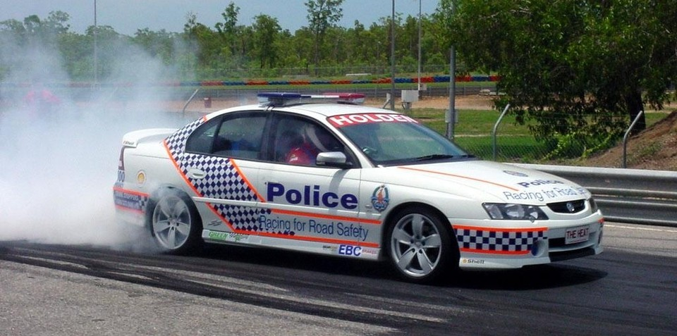 Victorian police officer gets car impounded for hooning and no rego