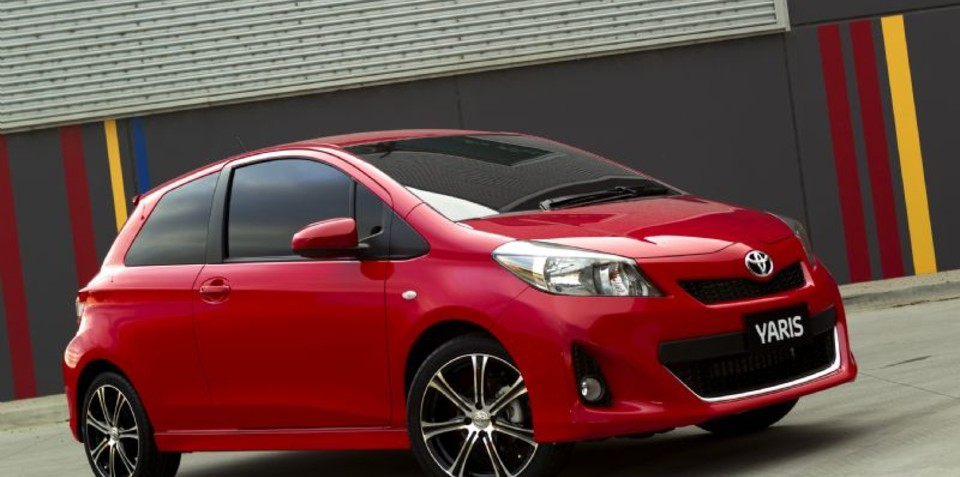2012 Toyota Yaris fine-tuned in Melbourne, on sale in Australia in October