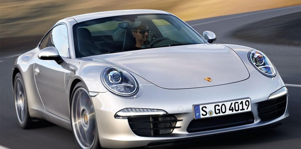 2012 Porsche 911 on sale in Australia in March