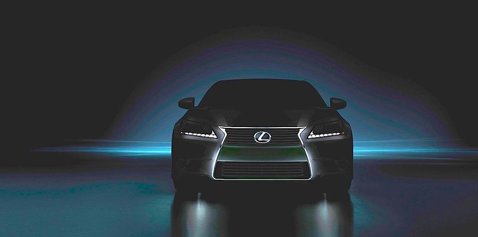 2013 Lexus GS 350 front image revealed