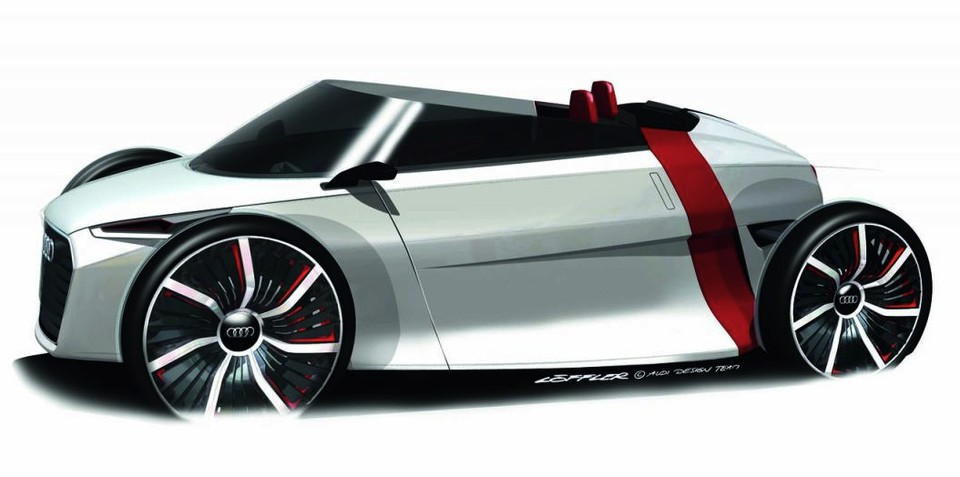 Audi Urban Concept Spyder to be unveiled at Frankfurt Motor Show