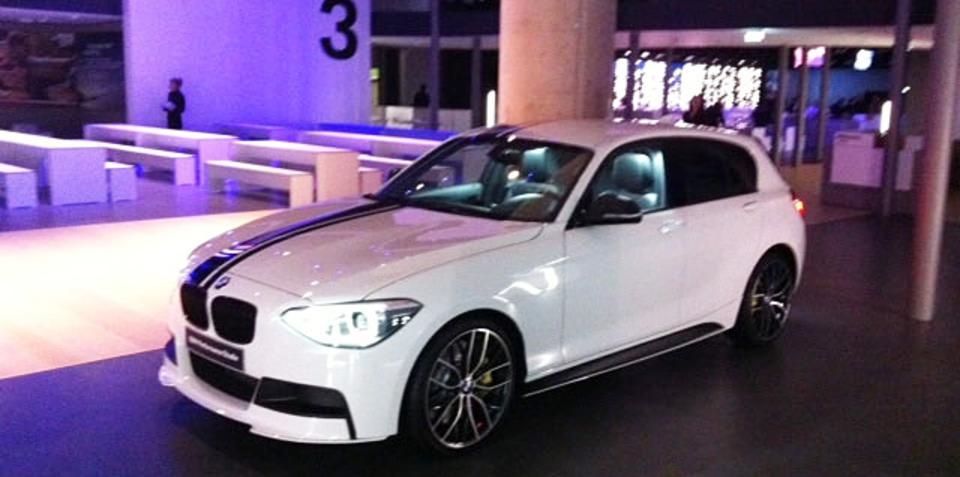 2012 BMW 1 Series Performance Studie revealed