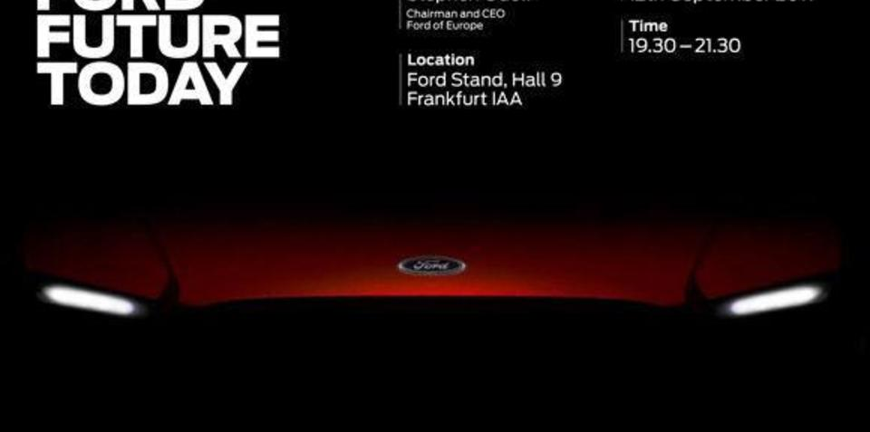 Ford to unveil four new cars at 2011 Frankfurt Motor Show