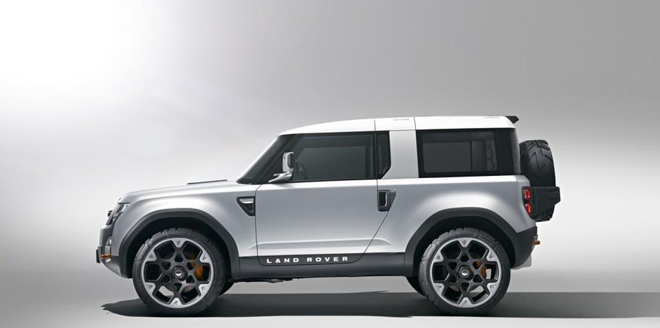 Land Rover DC100 Concept Defender SUV revealed