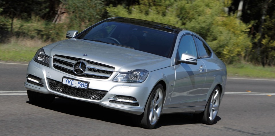 Mercedes-Benz C-Class Coupe launched