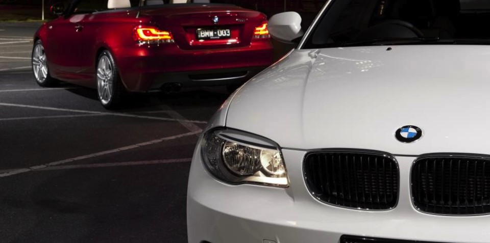 2012 BMW 1 Series Coupe, Convertible mid-life update for Australia