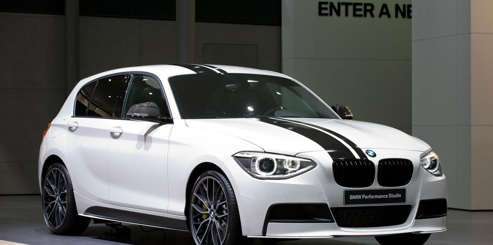 2012 BMW 1 Series M Performance accessories unveiled