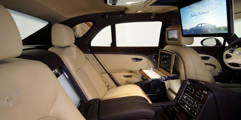 Bentley Mulsanne Executive Interior at Frankfurt Motor Show