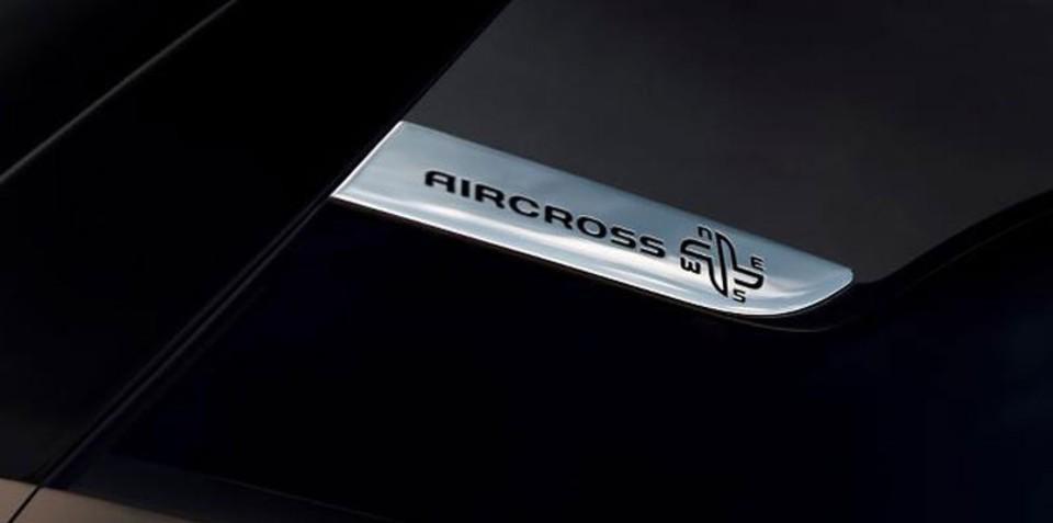 Citroen C4 Aircross teaser image released