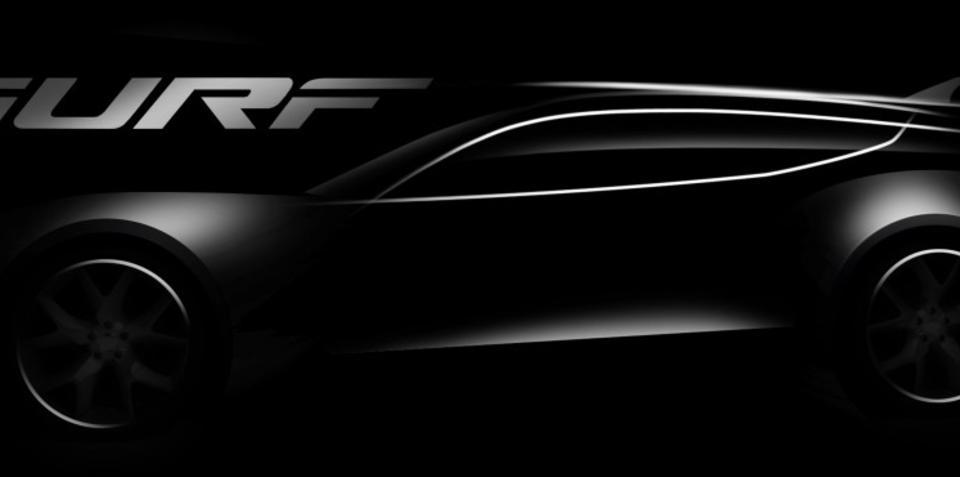 Fisker Surf Concept teaser released ahead of Frankfurt