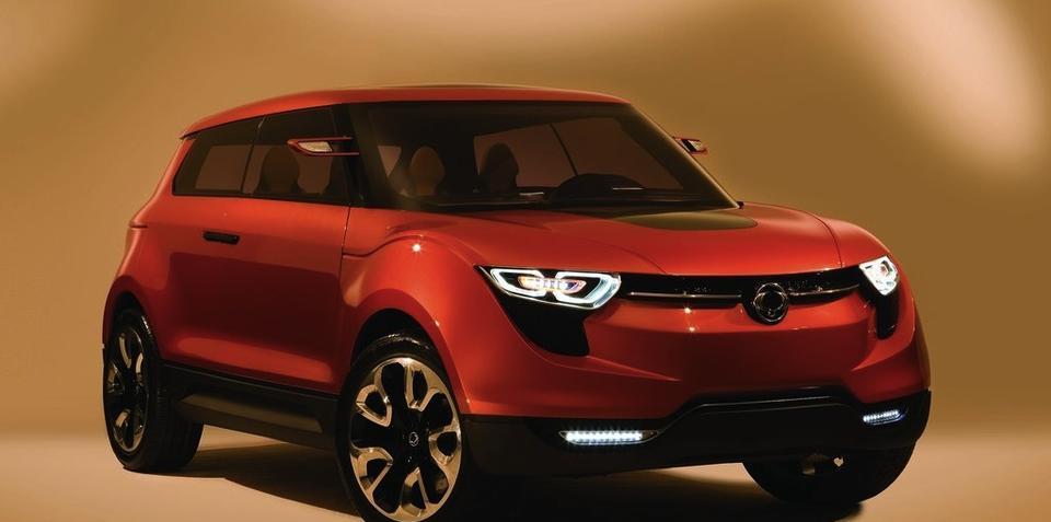 SsangYong XIV-1 Concept previews production model