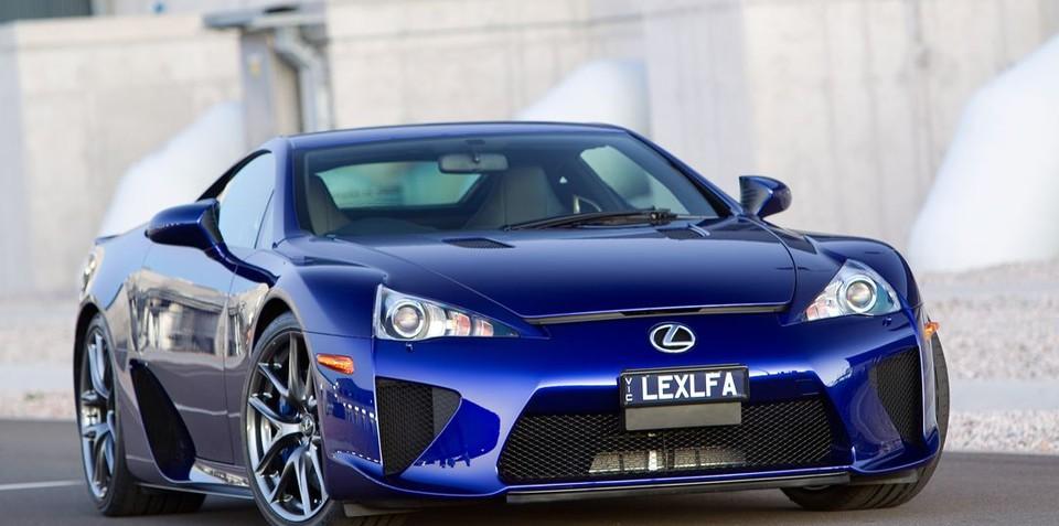 Lexus LFA Test Drive Preview