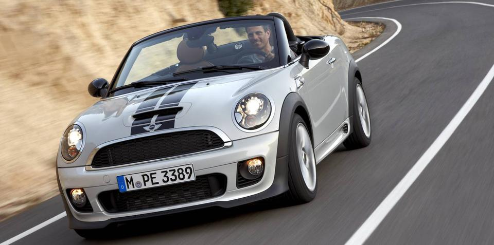 2012 MINI Roadster on sale with Coupe in Australia in March